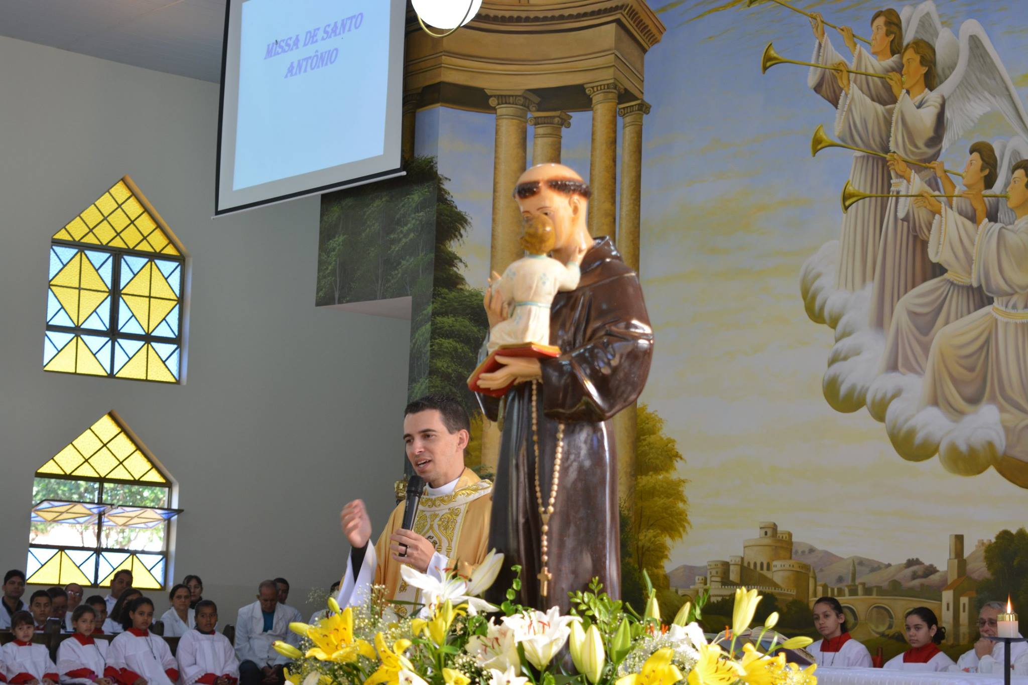 Imagem: Missa de Santo Antônio – 2019